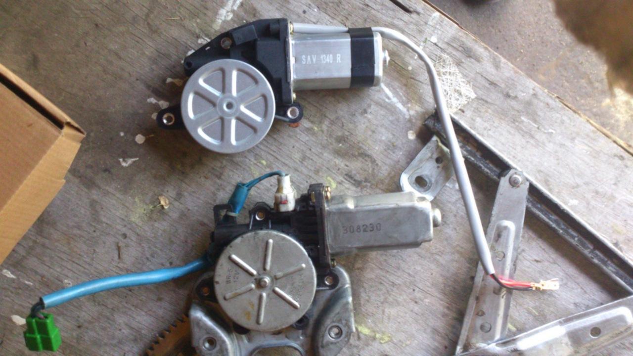 Установка моторедуктора ZD12401 на Субару Форестер SG. Рис. 6