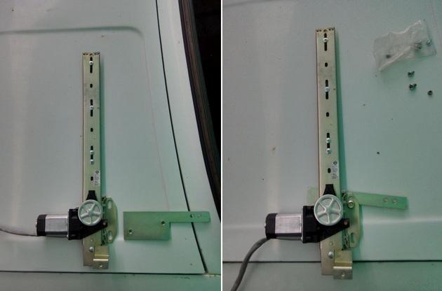 Установка стеклоподъемников ФОРВАРД на ВАЗ-2106 в передние двери. Рис. 6