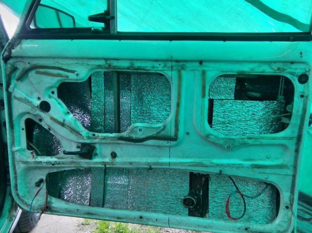Установка стеклоподъемников ФОРВАРД на ВАЗ-2106 в передние двери. Рис. 8