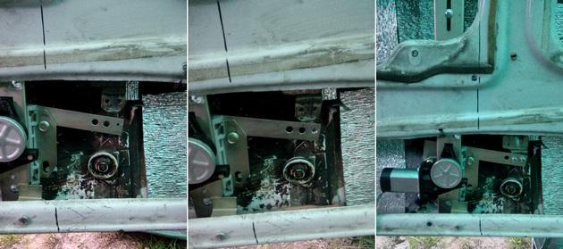 Установка стеклоподъемников ФОРВАРД на ВАЗ-2106 в передние двери. Рис. 12