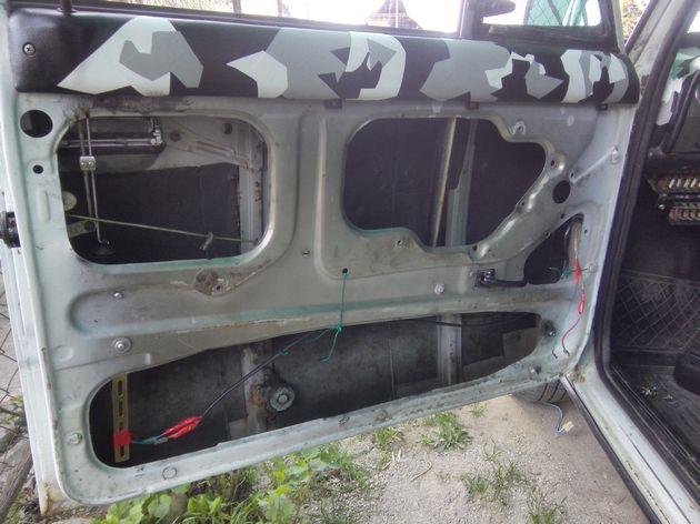 Установка стеклоподъемников ФОРВАРД на ВАЗ-2106 в передние двери. Рис. 13