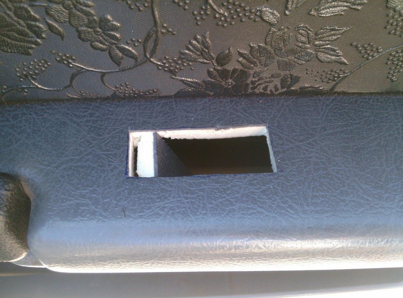 Установка электрических стеклоподъемников ГРАНАТ в передние двери ВАЗ-21099. Рис. 17
