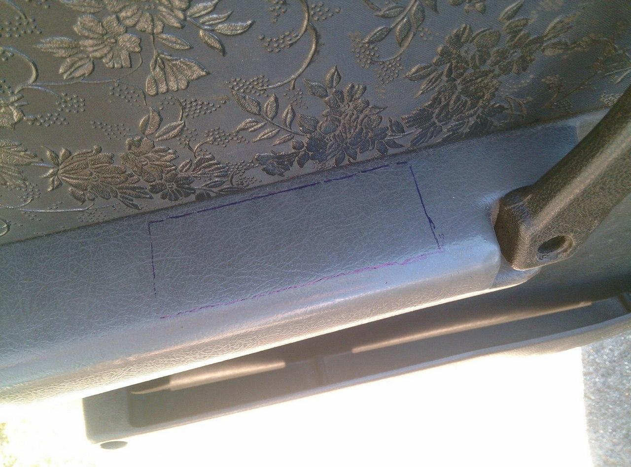 Установка электрических стеклоподъемников ГРАНАТ в передние двери ВАЗ-21099. Рис. 19