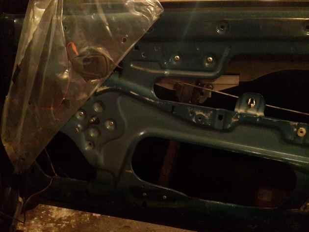 Установка в передние двери электрических стеклоподъемников ФОРВАРД для Daewoo Nexia Рис. 2