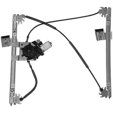 Электростеклоподъемник LIFT-TEK для Volkswagen Golf III и Vento (передний правый)