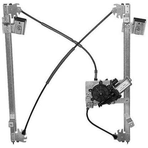 Электростеклоподъемник LIFT-TEK для Land Rover Freelander (передний левый)