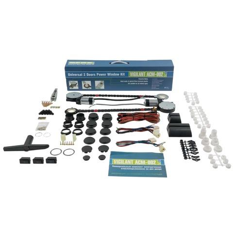 Универсальные электрические стеклоподъемники Vigilant ACM-002 - комплект