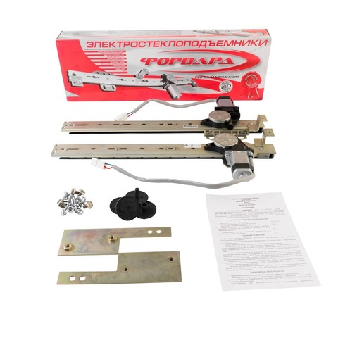 Электрические стеклоподъемники ФОРВАРД на ВАЗ-2101, -2106 комплект в передние двери