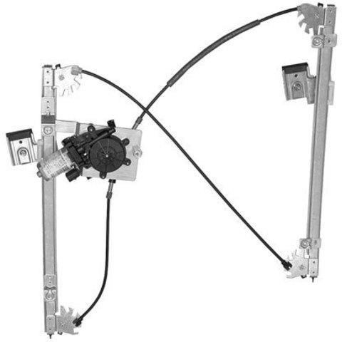 Электростеклоподъемник LIFT-TEK для Volkswagen Polo III (передний правый)