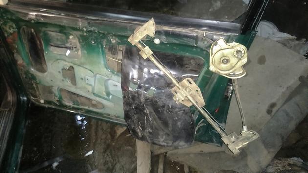 Установка электрических стеклоподъемников ФОРВАРД на ВАЗ-2109 Рис. 7
