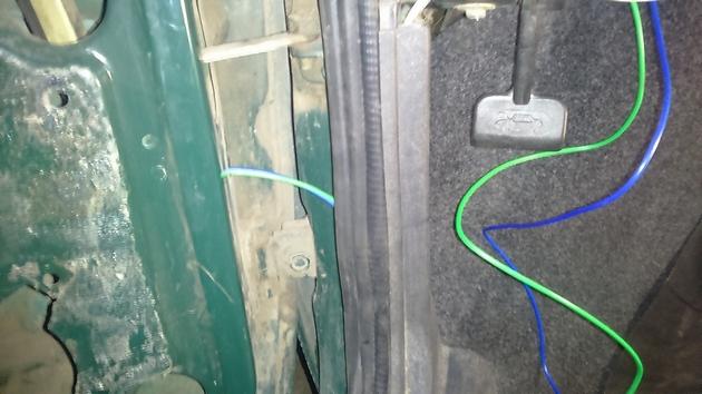 Установка электрических стеклоподъемников ФОРВАРД на ВАЗ-2109 Рис. 10