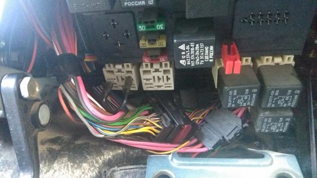 "Установка передних и задних электростеклоподъемников ""ФОРВАРД"" на Chevrolet NIVA. Рис 12"
