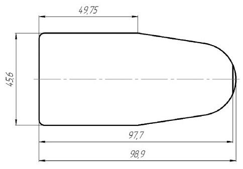 Место установки блока переключателей АВАР 355.3769