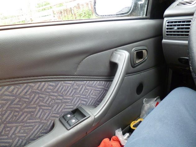 """Установка электростеклоподъемников """"КАТРАН"""" в передние двери Daewoo Nexia. Рис 12"""
