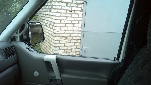 """Установка на VW Transporter T4 электростеклоподъемников """"ГРАНАТ"""" и доводчика стеклоподъемников Pandora DWM-210 Рис. 35"""