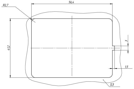 Место установки блока переключателей АВАР 357.3769