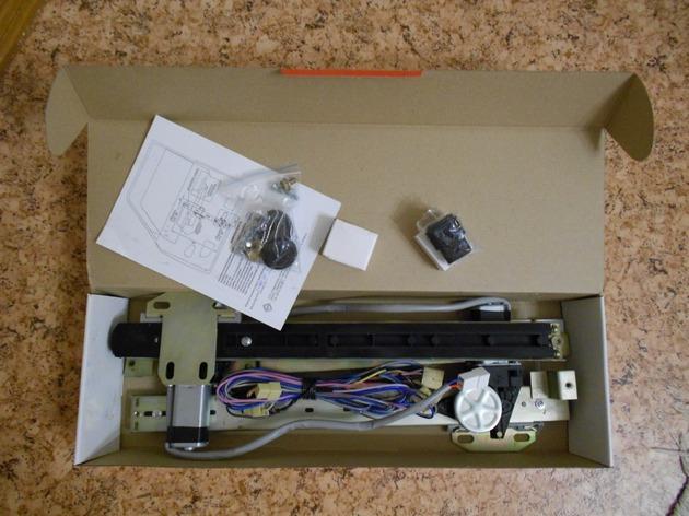 """Установка электрических стеклоподъемников """"ФОРВАРД"""" на ВАЗ-2107 в передние двери. Рис. 1"""