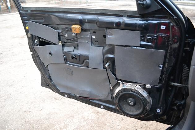 """Установка электрических стеклоподъемников """"ФОРВАРД"""" на Hyundai Accent в передние двери. Рис. 2"""