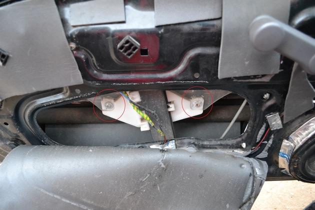 """Установка электрических стеклоподъемников """"ФОРВАРД"""" на Hyundai Accent в передние двери. Рис. 3"""