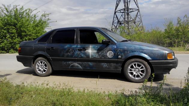 """Установка электрических стеклоподъемников """"ГРАНАТ"""" на VW Passat B3. Рис. 1"""