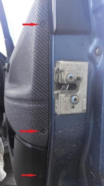 """Установка электрических стеклоподъемников """"ГРАНАТ"""" на VW Passat B3. Рис. 15"""