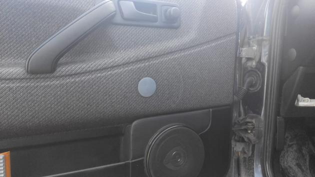 """Установка электрических стеклоподъемников """"ГРАНАТ"""" на VW Passat B3. Рис. 24"""