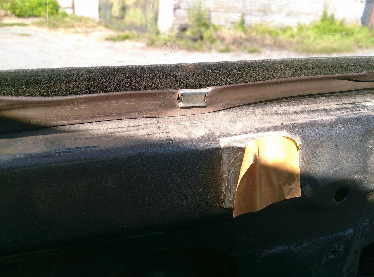 Установка электрических стеклоподъемников ГРАНАТ в передние двери ВАЗ-21099. Рис. 8