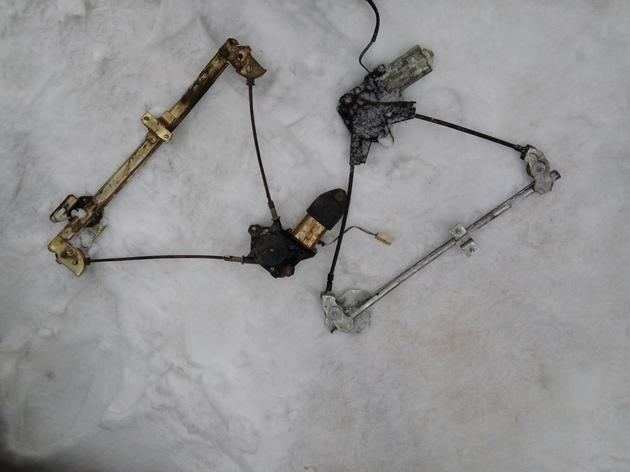 """Установка электростеклоподъемников """"ФОРВАРД"""" на ВАЗ-2110 в передние двери. Рис. 11"""