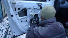 Видеоотчет об установке передних стеклоподъемников ФОРВАРД для Renault Duster
