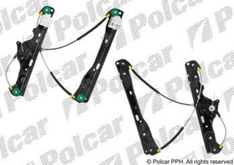 2060PSG2 Стеклоподъемник Polcar для BMW X1 I передний правый без моторедуктора