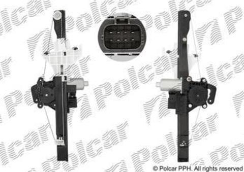 Стеклоподъемник Polcar для Ford Mondeo III задний левый