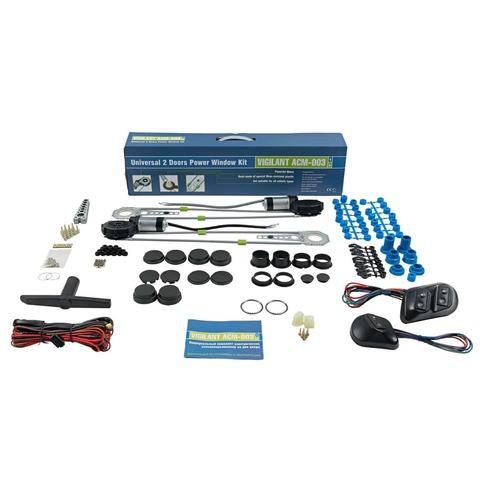 Универсальные электрические стеклоподъемники Vigilant ACM-003 - комплект