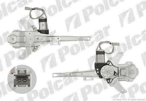 3875PSE3 Стеклоподъемник Honda CRV (RD) задний левый электрический Polcar