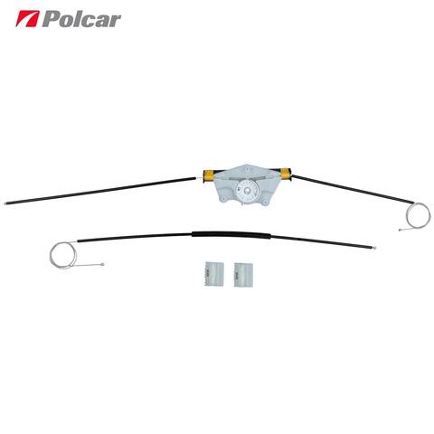 Рем. комплект стеклоподъемника Volkswagen Touareg (7L) и Porsche Cayenne (955/957) переднего правого (Polcar ZNP95802)