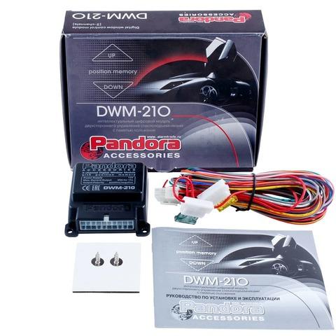 Модуль интеллектуального двухстороннего управления стеклоподъемниками Pandora DWM-210
