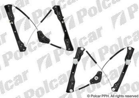 Cтеклоподъемник Polcar для Volkswagen Passat VI передний правый без моторедуктора