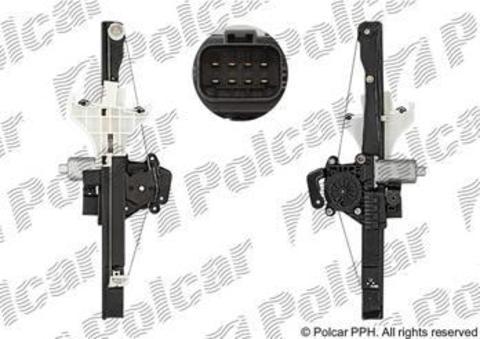 3218PSE4 Стеклоподъемник Polcar для Ford Mondeo III задний правый