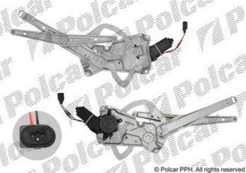 Стеклоподъемник Polcar для BMW 3 Series III передний правый
