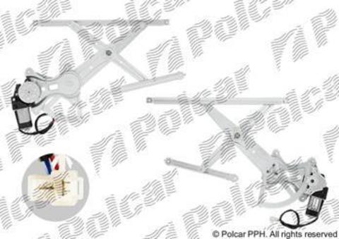 Стеклоподъемник Polcar для Toyota Hilux VII передний левый