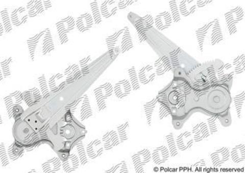 80C1PSG3 Стеклоподъемник Lexus CT (2010 - н.вр.) задний левый электрический без мотора Polcar